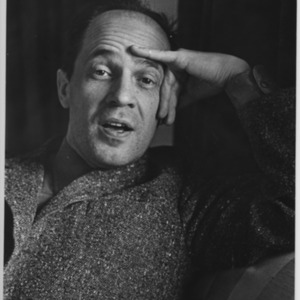 Pierre Boulez, French composer, conductor and writer.