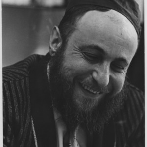 Portrait of a Rabbi laughing